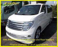 2002 NISSAN ELGRAND Rider 3.5 4WD Auto 8 Seats, Leather,Winter Pack,XENONS £7000.00