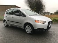 USED 2010 59 MITSUBISHI COLT 1.1 CZ1 5 DOOR 52000 LOCAL OWNER LAST 4 YEARS