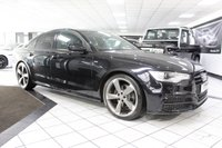 USED 2014 14 AUDI A6 SALOON 2.0 TDI ULTRA S LINE BLACK EDITION AUTO 190 BHP REAR DVD FULL HEATED LTHR NAV!