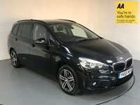 USED 2015 65 BMW 2 SERIES 1.5 218I SPORT GRAN TOURER 5d AUTO 134 BHP BMW HISTORY - EURO 6 - 7 SEATS - 1 OWNER - SAT NAV - BLUETOOTH - PARKING SENSORS - AIR CON - DAB