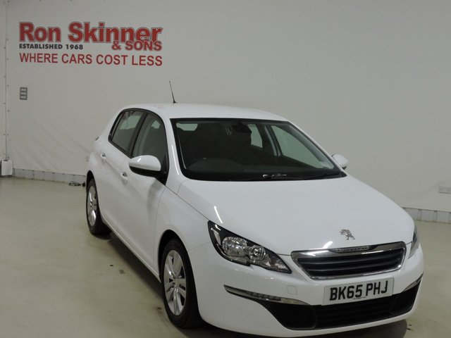 View our 2015 65 PEUGEOT 308 1.6 BLUE HDI S/S ACTIVE 5d 100 BHP