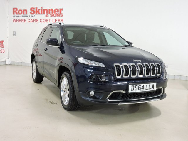 View our 2014 64 JEEP CHEROKEE 2.0 M-JET LIMITED 5d AUTO 168 BHP 4WD