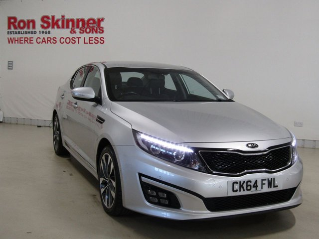 View our 2014 64 KIA OPTIMA (72) 1.7 CRDI 2 ECODYNAMICS 4d 134 BHP