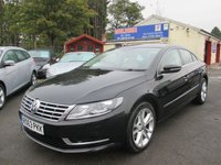 2013 VOLKSWAGEN CC 2.0 TDI BLUEMOTION TECHNOLOGY 4d 138 BHP £9000.00