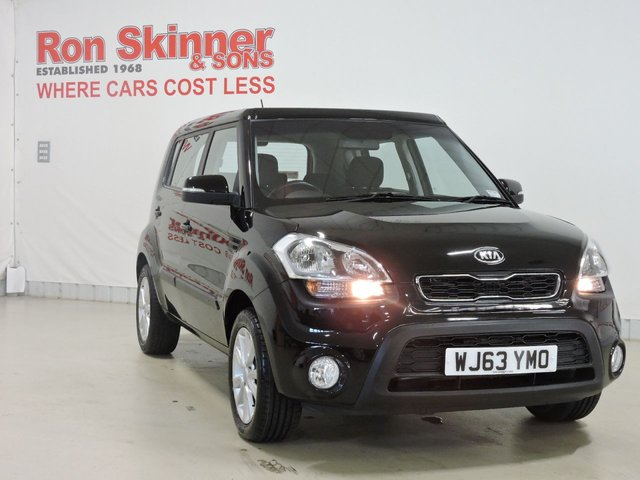 View our 2013 63 KIA SOUL 1.6 2 5d 138 BHP