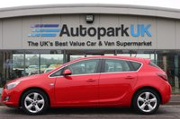 USED 2011 11 VAUXHALL ASTRA 1.6 SRI 5d 113 BHP LOW DEPOSIT OR NO DEPOSIT FINANCE AVAILABLE