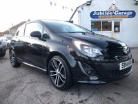 USED 2014 14 VAUXHALL CORSA 1.4 BLACK EDITION 3d 118 BHP 15826 Miles, Cruise, Diamond Cut Wheels, Privacy Glass!