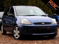 USED 2006 06 FORD FIESTA 1.2 ZETEC CLIMATE 16V 5d 78 BHP
