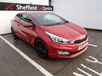USED 2014 63 KIA CEED 1.6 PRO CEED CRDI SE ECODYNAMICS 3d 126 BHP £156 A MONTH SATELLITE NAVIGATION BLUETOOTH REAR SENSORS ALLOY WHEELS ELECTRIC WINDOWS AND MIRRORS SPARE WHEEL