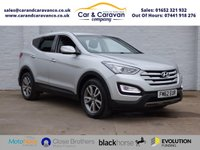 USED 2013 62 HYUNDAI SANTA FE 2.2 STYLE CRDI 5d AUTO 194 BHP Hyundai History A/C Bluetooth Buy Now, Pay Later Finance!