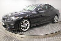 2014 BMW 2 SERIES 2.0 220D M SPORT 2d 181 BHP £14000.00