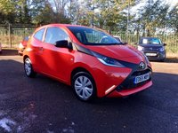 USED 2015 65 TOYOTA AYGO 1.0 VVT-I X 3d  WITH REMAINING TOYOTA WARRANTY AND LOW MILEAGE  NO DEPOSIT  PCP/HP FINANCE ARRANGED, APPLY HERE NOW