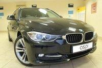 2014 BMW 3 SERIES 1.6 316I SPORT TOURING 5d AUTO 135 BHP £14450.00