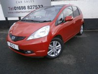 USED 2009 09 HONDA JAZZ 1.4 I-VTEC EX 5dr GREAT VALUE 5DR HATCH