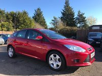 2014 FORD FOCUS 1.6 EDGE ECONETIC TDCI 5d 104 BHP WITH SERVICE HISTORY £6250.00