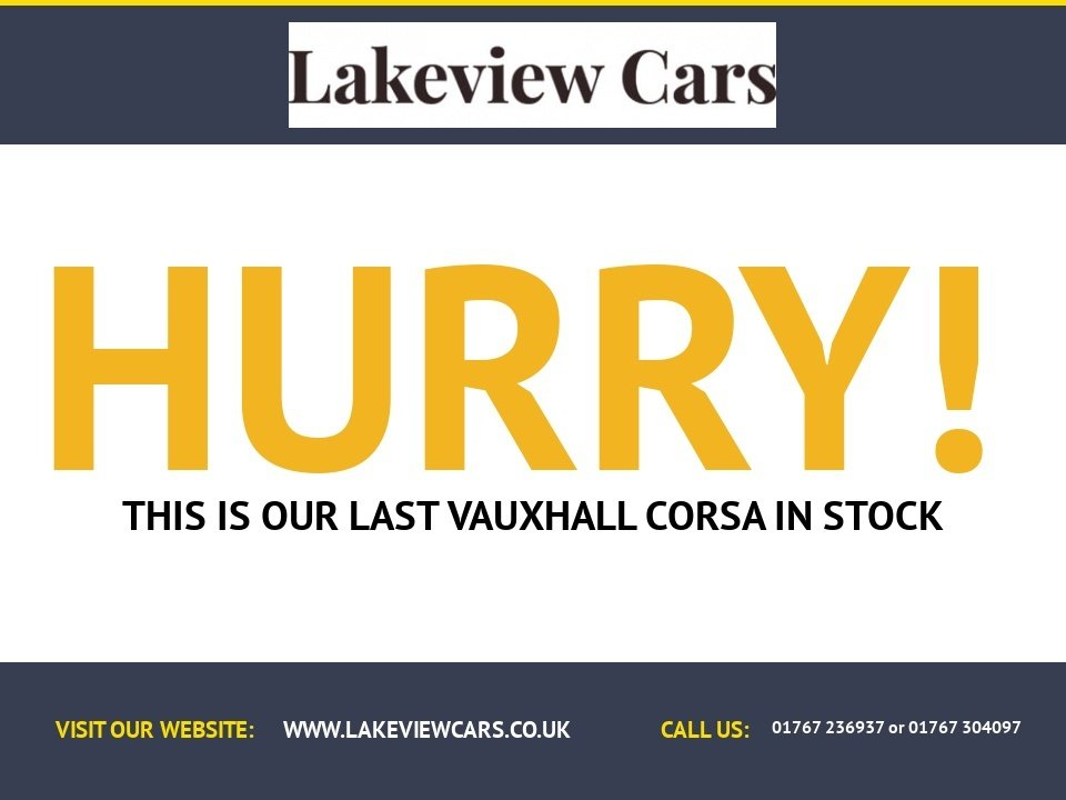 USED 2015 65 VAUXHALL CORSA 1.2 EXCITE AC CDTI ECOFLEX S/S 3d 74 BHP
