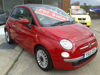 2013 FIAT 500 1.2 LOUNGE 3d 69 BHP £SOLD