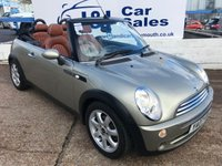 USED 2007 MINI CONVERTIBLE 1.6 COOPER SIDEWALK 2d 114 BHP