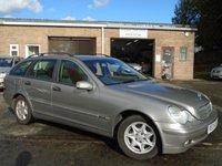 2004 MERCEDES-BENZ C CLASS 2.1 C200 CDI CLASSIC SE 5d AUTO 122 BHP £1495.00