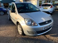 USED 2009 58 FORD FIESTA 1.2 STYLE 16V 5d 78 BHP EXCEPTIONALLY LOW WARRANTED MILEAGE AND 1 OWNER