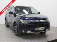 USED 2015 65 MITSUBISHI OUTLANDER 2.3 DI-D GX 3 5d 147 BHP 7 SEATS 4 x 4 1 Owner, Full Mitsubishi Service History, serviced in September 2016 at 6,839 miles, August 2017 at 12,359 miles and August 2018 at 16,948 miles this is a stunning example of a Mitsubishi Outlander 7 Seater 4x4 in beautiful pearlescent Tanzanite Blue. In addition this car comes with a fantastic spec with Privacy Glass, Parking Sensors, Keyless Entry, Air Con, Bluetooth, Cruise Control, Electrically Operated Folding Wing Mirrors, an MOT until 15th August 2019 and Mitsubishi Warranty to Sept 2020