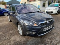 USED 2009 59 FORD FOCUS 1.8 TITANIUM 5d 125 BHP MAIN DEALER SERVICE HISTORY / ONE OWNER CAR