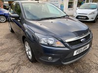 USED 2011 11 FORD FOCUS 1.6 ZETEC TDCI 5d 109 BHP COMPREHENSIVE SERVICE HISTORY