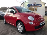 USED 2009 59 FIAT 500 1.2 POP 3d 69 BHP One Owner, Full Fiat History, Low Miles, 12 Months MOT!
