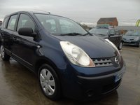 2006 NISSAN NOTE 1.4 S FULL SERVICE ONLY 30K MILES  £2595.00