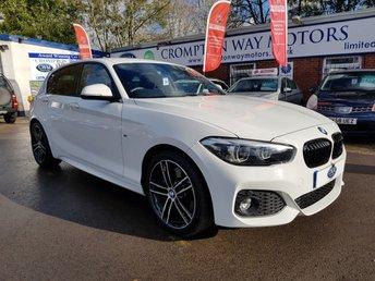 2018 BMW 1 SERIES 1.5 118I M SPORT SHADOW EDITION 5d 134 BHP £18995.00