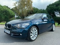 USED 2013 13 BMW 1 SERIES 1.6 118I SPORT 3d AUTO 168 BHP SPORT SPEC, AUTOMATIC GEARBOX, DAB RADIO, LOW MILLAGE, PX WELCOME!!!