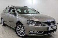 USED 2014 14 VOLKSWAGEN PASSAT 2.0 EXECUTIVE TDI BLUEMOTION TECHNOLOGY 5DR 139 BHP 1 Owner Full Service History FULL SERVICE HISTORY + HEATED LEATHER SEATS + SATELLITE NAVIGATION + PARKING SENSOR + BLUETOOTH + CRUISE CONTROL + DAB RADIO + CLIMATE CONTROL + 17 INCH ALLOY WHEELS