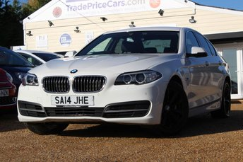 2014 BMW 5 SERIES 2.0 520D SE 4d 181 BHP £12750.00