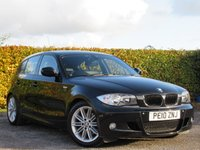 USED 2010 10 BMW 1 SERIES 2.0 118D M SPORT 5d RECENTLY SERVICED * MOT TIL JUNE 2019 * M SPORT * HEATED LEATHER INTERIOR