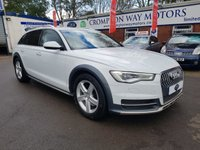 USED 2016 66 AUDI A6 3.0 ALLROAD TDI QUATTRO 5d AUTO 268 BHP 0%  FINANCE AVAILABLE ON THIS CAR PLEASE CALL 01204 317705