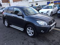 USED 2007 07 TOYOTA RAV4 2.0 VVTI XTR 5d AUTO 150 BHP OUR  PRICE INCLUDES A 6 MONTH AA WARRANTY DEALER CARE EXTENDED GUARANTEE, 1 YEARS MOT AND A OIL & FILTERS SERVICE. 6 MONTHS FREE BREAKDOWN COVER.    CALL US NOW FOR MORE INFORMATION OR TO BOOK A TEST DRIVE ON 01315387070 !! LIKE AND SHARE OUR FACEBOOK PAGE!!