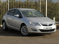 USED 2012 12 VAUXHALL ASTRA 1.6 ACTIVE 5d 113 BHP
