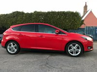 2015 FORD FOCUS 1.0 ZETEC 5d WITH APPEARANCE PACK AND MAIN DEALER SERVICE HISTORY  £8000.00