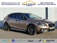 USED 2013 13 VOLVO V40 1.6 D2 CROSS COUNTRY LUX NAV 5d 113 BHP Full Service History NAV DAB Buy Now, Pay Later Finance!