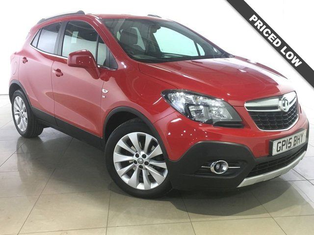 View our 2015 15 VAUXHALL MOKKA 1.4 SE 5d 138 BHP