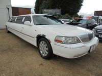 2008 LINCOLN TOWN CAR 4.6 V8 LIMO AUTOMATIC NEW SHAPE MODEL 60 POINT CHECK CARRIED OUT £10000.00
