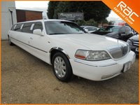 2008 LINCOLN TOWN CAR 4.6 V8 4d AUTO!NEW SHAPE MODEL!J SEAT ONLY THE BEST!3 TV;S 8 SEATER TOO MUCH TO LIST!LOOK AT VIDEO! £10000.00