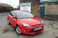 USED 2012 61 FORD FOCUS 1.6 ZETEC 5d 124 BHP One Former Owner ... Supplied With 12 Months MOT And Fresh Service
