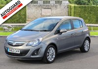 USED 2013 63 VAUXHALL CORSA 1.4 SE 5d 98 BHP Finance options available