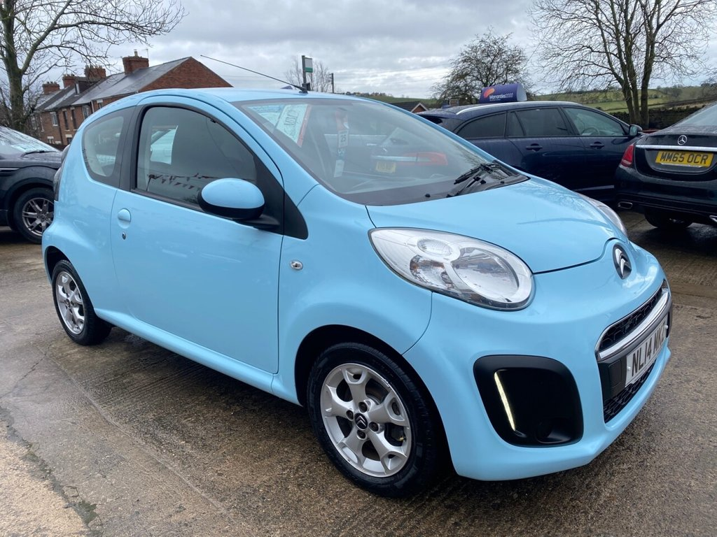 USED 2014 14 CITROEN C1 1.0 EDITION 3d 67 BHP*£0 TAX* LED RUNNING LIGHTS * ALLOYS * EXCELLENT VALUE *