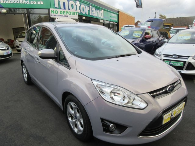 USED 2011 11 FORD C-MAX 1.6 ZETEC TDCI 5d 114 BHP CALL 01543 379066... 12 MONTHS MOT... 6 MONTHS WARRANTY... DIESEL.. FINANCE AVAILABLE