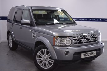 2012 LAND ROVER DISCOVERY 3.0 4 SDV6 XS 5d AUTO 255 BHP £18370.00
