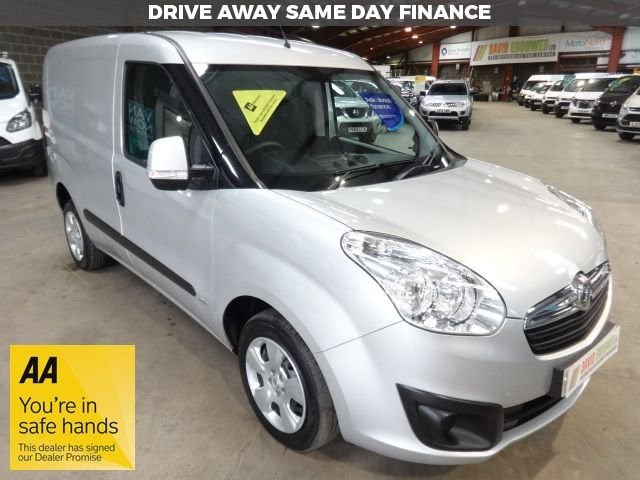 """USED 2014 64 VAUXHALL COMBO 1.2 2000 L1H1 CDTI SPORTIVE SWB VAN 90 BHP - AIR CONDITIONING - """"YOU'RE IN SAFE HANDS"""" - AA DEALER PROMISE"""