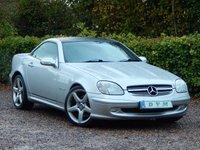 2002 MERCEDES-BENZ SLK 2.0 SLK200 KOMPRESSOR 2d AUTO 163 BHP £2970.00