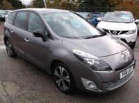 2011 RENAULT SCENIC 1.5 DYNAMIQUE TOMTOM BOSE PACK DCI EDC 5d AUTO 110 BHP £6000.00